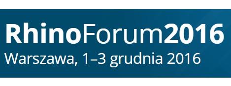 RhinoForum 2016 – Warszawa