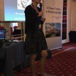 Prof. Olszewska wygłasza wykład o standardach postępowania w leczeniu zaburzeń oddychania podczas snu